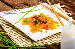 Sashimi new style Stock Photos