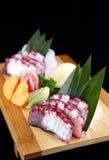 Sashimi of octopus Stock Photography