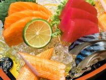 Sashimi owoce morza Fotografia Royalty Free