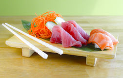 Sashimi Plate Royalty Free Stock Photos