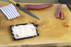 Sashimi prepared Stock Images
