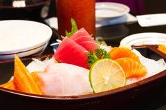 Sashimi raw fish Stock Photo
