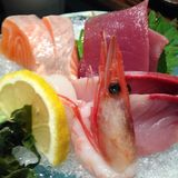 Sashimi. Raw fresh seafood Sashimi Stock Photos