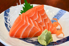 Sashimi salmon Stock Photos