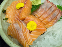 Sashimi salmon Royalty Free Stock Photos