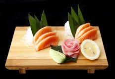 Sashimi of salmon Royalty Free Stock Photo