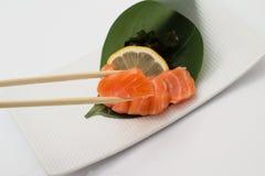 Sashimi saumoné Photo stock