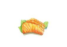 Sashimi saumoné, Photographie stock libre de droits