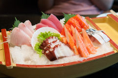 Sashimi set Stock Photography