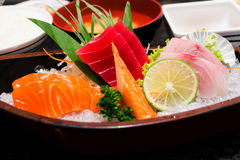 Sashimi set. Stock Images