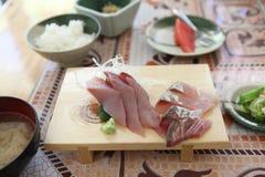 Sashimi set Royalty Free Stock Photos