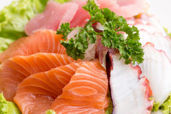 Sashimi set Stock Image