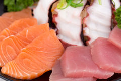 Sashimi set Royalty Free Stock Image