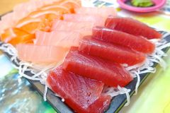 Sashimi set closeup Stock Image