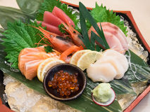 Sashimi Set Stock Photo
