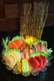 Sashimi set, Japanese food Stock Photos