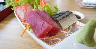 Sashimi set Royalty Free Stock Images