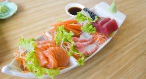 Sashimi set Stock Photography