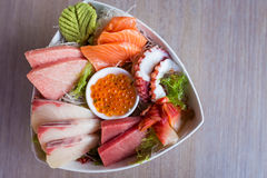 Sashimi Set Royalty Free Stock Photos