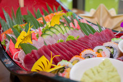 Sashimi set Stock Images
