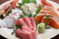 Sashimi royalty free stock image