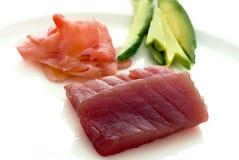 Sashimi-Sushi Stockfotografie