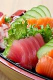 Sashimi suszi Fotografia Royalty Free