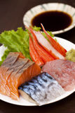 Sashimi suszi japończyka kuchnia Obrazy Stock