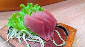 Sashimi tuńczyk Fotografia Royalty Free