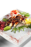 sashimi unagi Fotografia Royalty Free