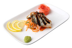 Sashimi unagi Stock Photo