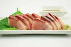 Sashimi of Yellowtail Royalty Free Stock Photo