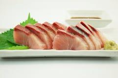 Sashimi of Yellowtail Royalty Free Stock Photo