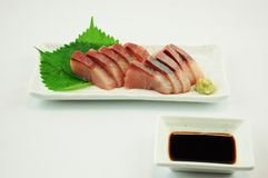 Sashimi of Yellowtail Royalty Free Stock Photography