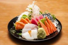 Sashimisushi-Japaner-Küche Stockfotografie