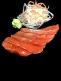 Sashimisushisatz Stockfoto