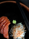 Sashimisushisatz Lizenzfreies Stockfoto