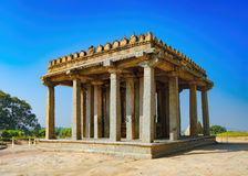 Sasivekalu Ganesha in Hampi, India immagini stock