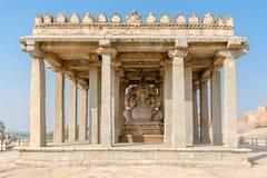 Sasivekalu Ganesha monument, Hampi, Karnataka, India. Sasivekalu Ganesha monument in Hampi, Karnataka, India, Asia royalty free stock photos