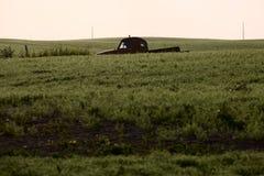 Saskatchewan-Ackerland im Sommer Lizenzfreies Stockfoto