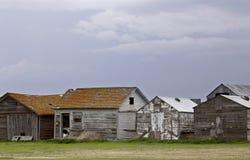 Saskatchewan Farm Buildings Stock Image