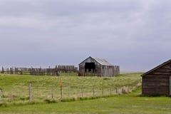 Saskatchewan Farm Buildings Stock Images
