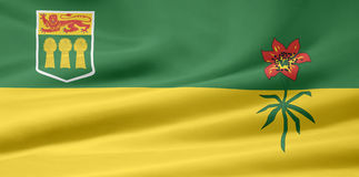 Saskatchewan Flag Stock Photography