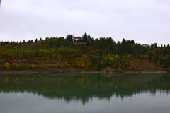 Saskatchewan flod Royaltyfria Foton