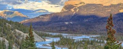 Saskatchewan-Fluss Lizenzfreie Stockfotografie