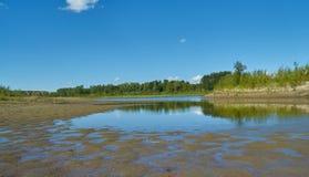 Saskatchewan-Fluss stockfotos