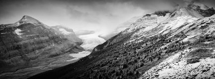 Saskatchewan Glacier Royalty Free Stock Images
