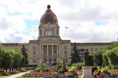 Saskatchewan Legislature in late summer Stock Photos