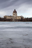 Saskatchewan Prawodawczy budynek Obraz Stock
