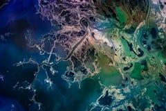 Saskatchewan Rzeczna delta, Manitoba, Kanada fotografia royalty free